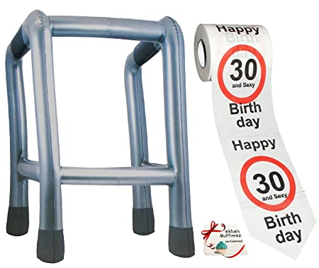 Aufblasbar Gehhilfe Rollator Gehgestell Handstock Alter Spaß Verkleidung Zubehör