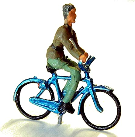 Langley Models bicicleta + caballo figura OO escala modelo de ...