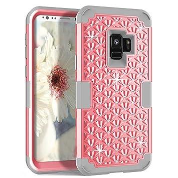 MON5F Home Estuches para Celular Samsung Galaxy S9 Silicone ...