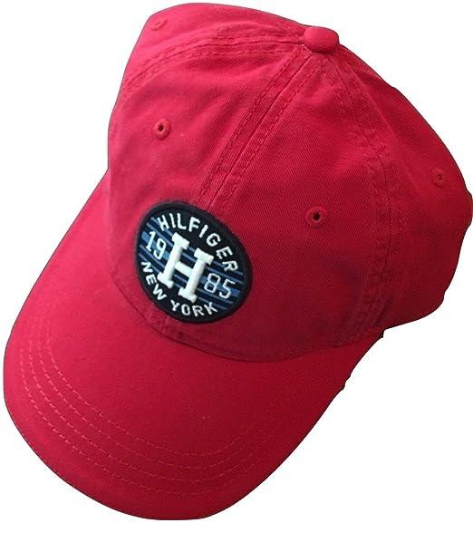 Tommy Hilfiger - Gorra de béisbol - para hombre rojo rojo Talla única: Amazon.es: Ropa y accesorios