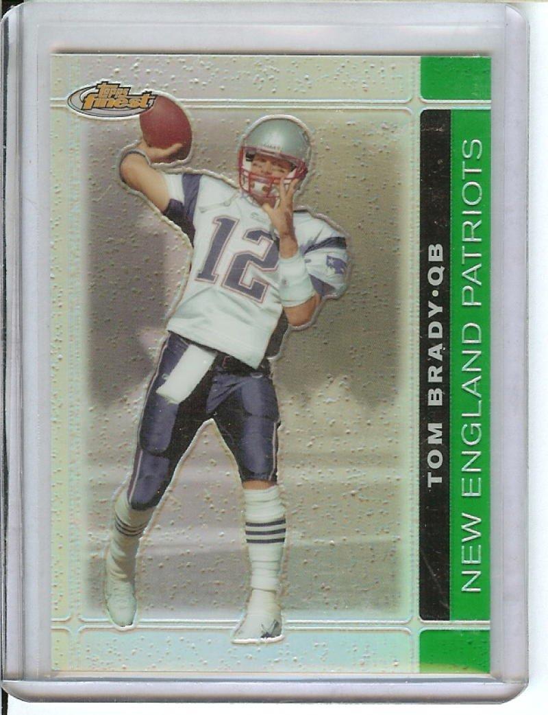 フットボールNFL 2007 Finestグリーン屈折望遠鏡# 8 Tom Brady / 199 Patriots   B074CN96YM