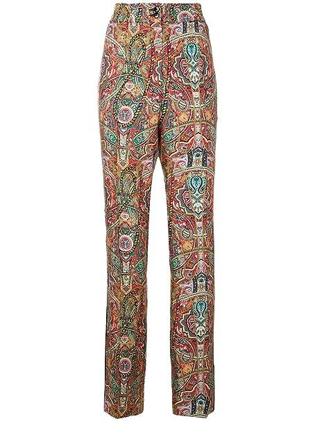 ba12801261 ETRO - Pantaloni - Donna Multicolor 38: Amazon.it: Abbigliamento