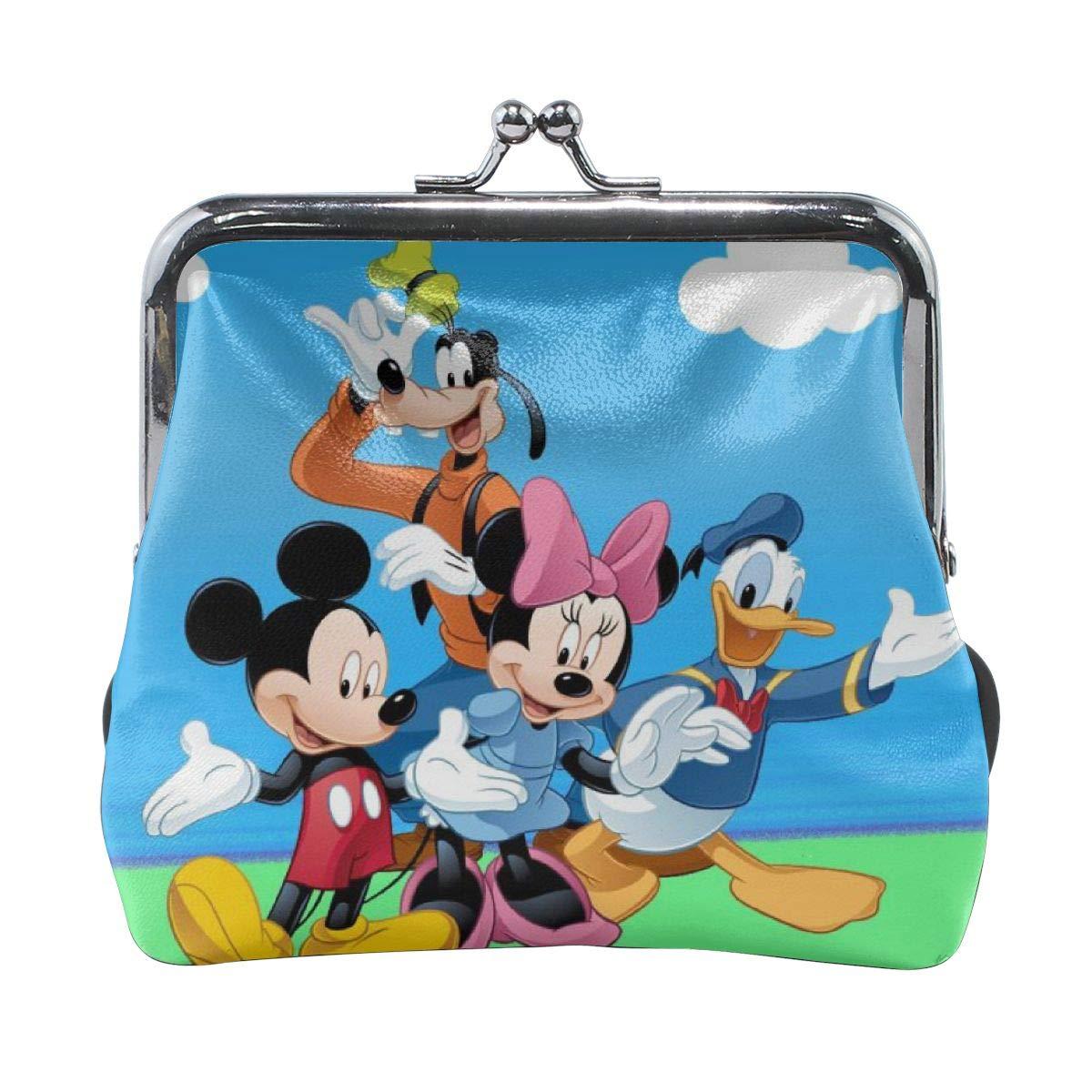Meirdreni Monedero con hebilla Donald Duck Mickey Mouse y ...