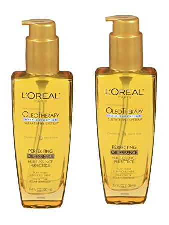 L Oreal Paris Hair Expertise OleoTherapy Perfecting Oil-Essence, 3.4 fl oz – 2pc