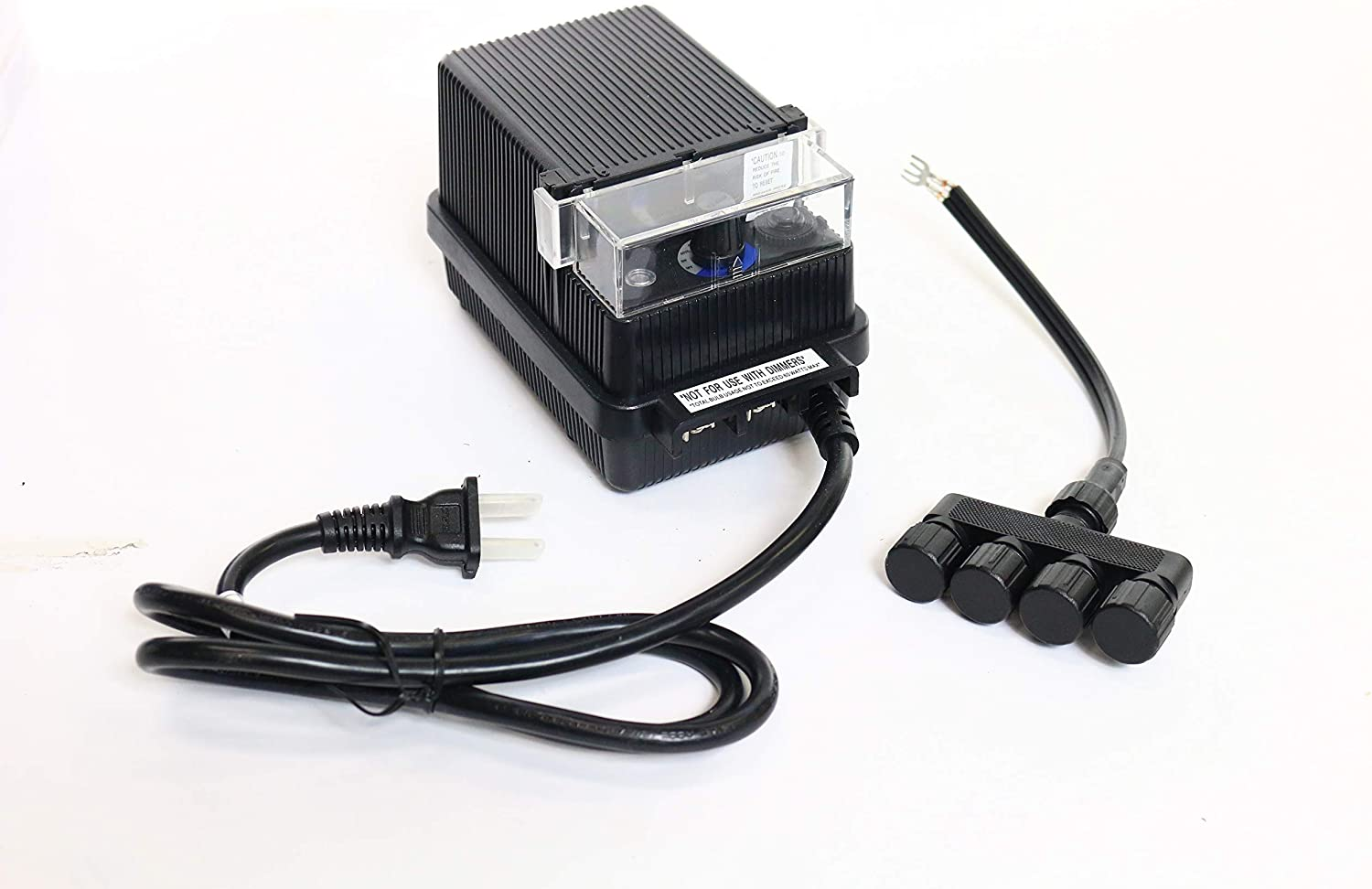 Alpine PL102T 60W Transformer with Photo Cell and Timer