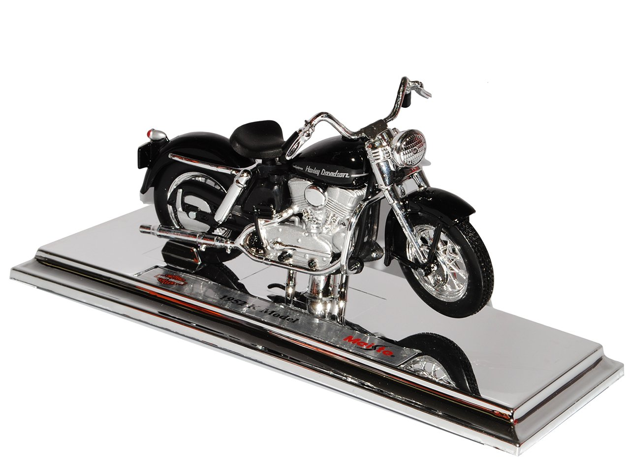 Harley Davidson 1952K Nero 1/18Maisto modello Frecce con o senza individiuellem richiesta Targa Modellcarsonline