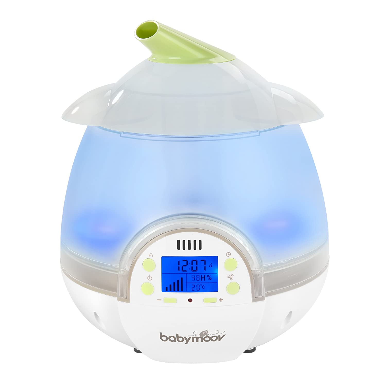 Babymoov Humidificateur Digital Vert Blanc Amazon Bébés