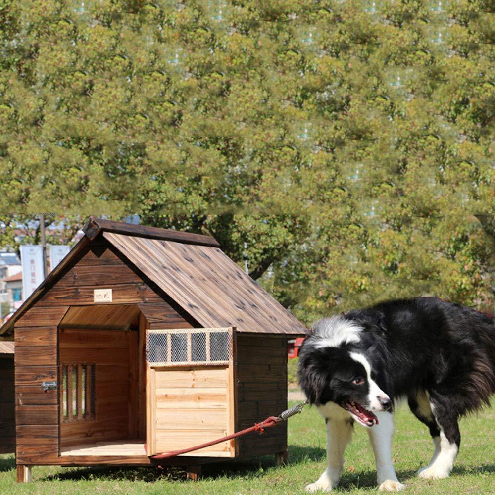 Lonshi Casa de Perro Perrera Jaula para Perros Jaula a Prueba de ...