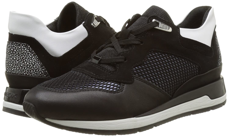 Amazon.com | Geox Women's W Shahira 33 Black Athletic Shoe | Tennis &  Racquet Sports