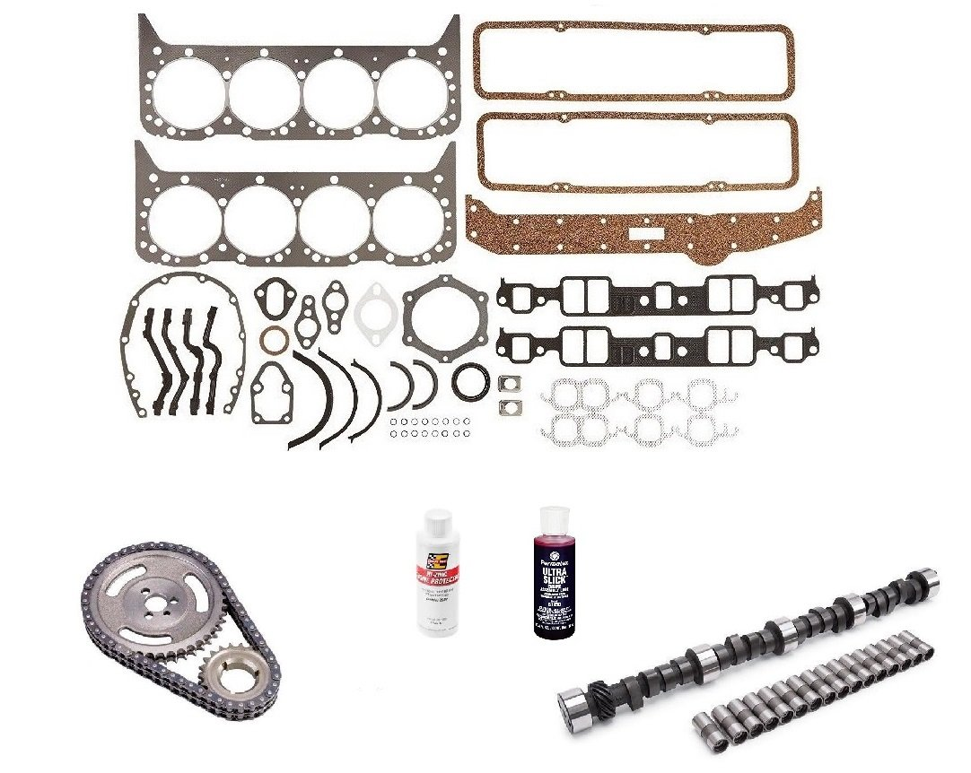 Engine Pro Small Block Chevy Stage 3 447//447 Lift Camshaft Install Kit