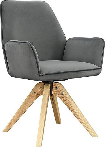 Convenience Concepts Miranda Swivel Accent Chair