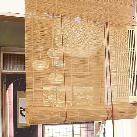 Persianas Enrollables Y Estores Store Enrouleur En Bambou Retro Occultant Anti Moisissure Pour Porte Fenetre Balcon 120 X 100 Cm Amazon Fr Cuisine Maison