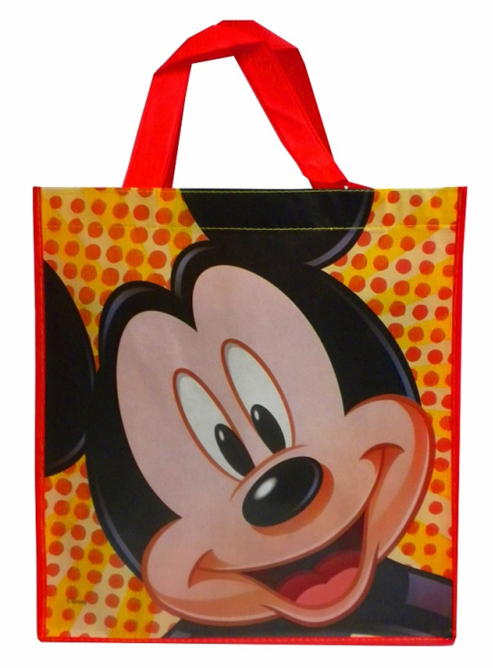 Disney Mickey Mouse Medium Reusable Tote Bag (13.5 X 13.5 X 5.75 Inches)