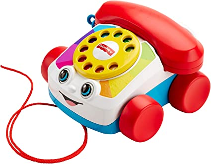 Amazon Com Fisher Price Chatter Telephone Newer Version Fgw66 Toys Games