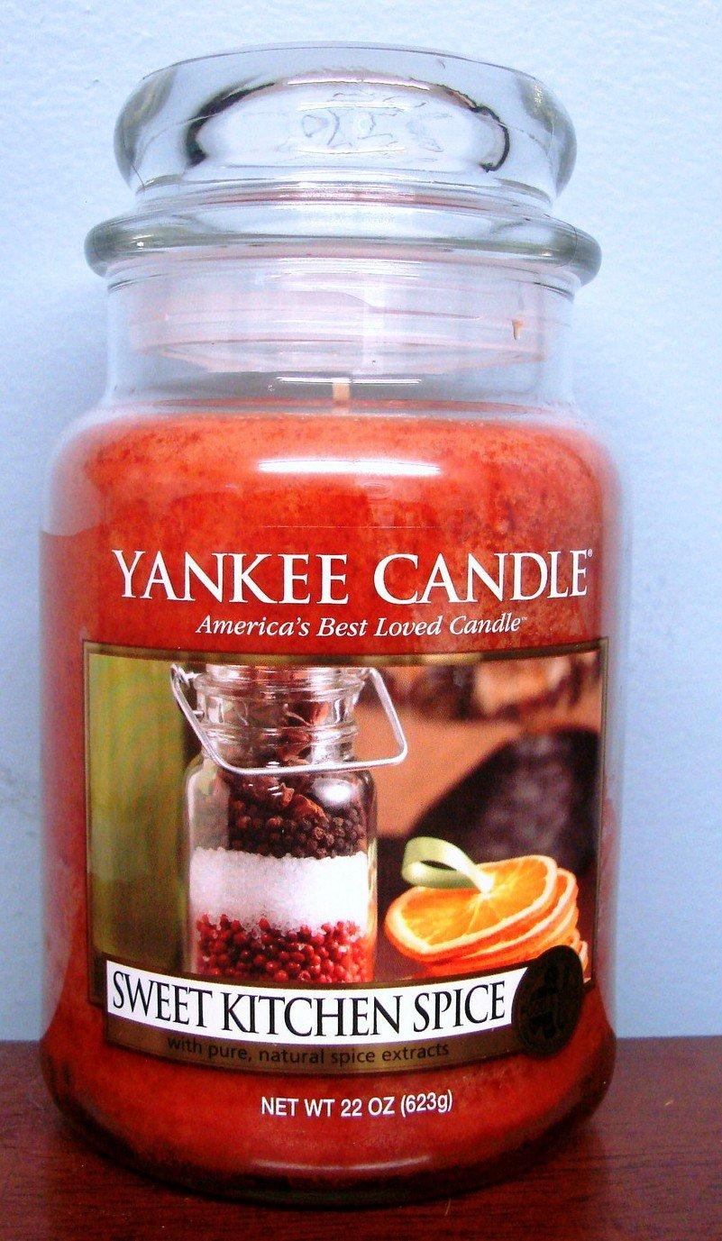 Superior Amazon.com: Yankee Candle 22 Oz Jar Sweet Kitchen Spice: Home U0026 Kitchen