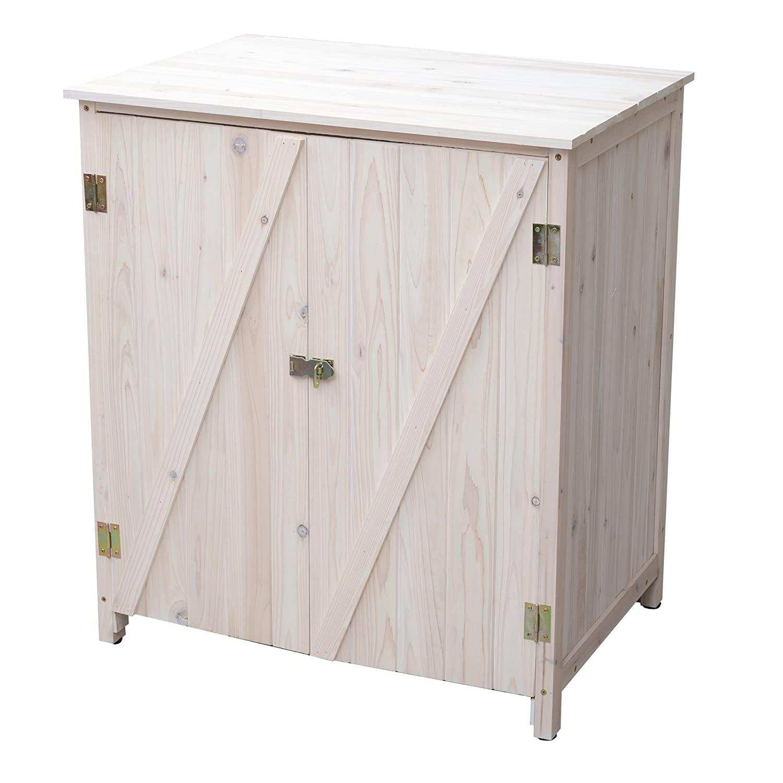 Rocking Table(ロッキングテーブル) 木製収納庫 ランドリーラック ホワイト WDC-0005-WH B00F4NLZI4