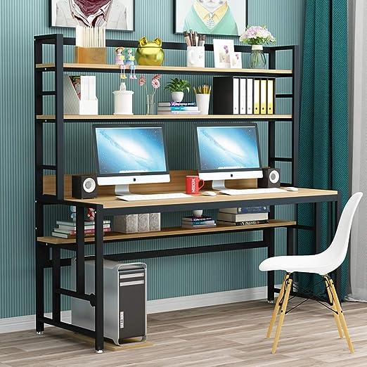 Escritorio para ordenador Wayward con estantes de almacenamiento ...