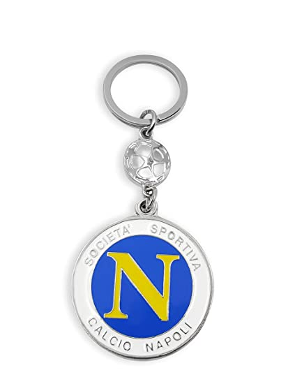 flagsandsouvenirs Keychain Italy Soccer Team Napoli