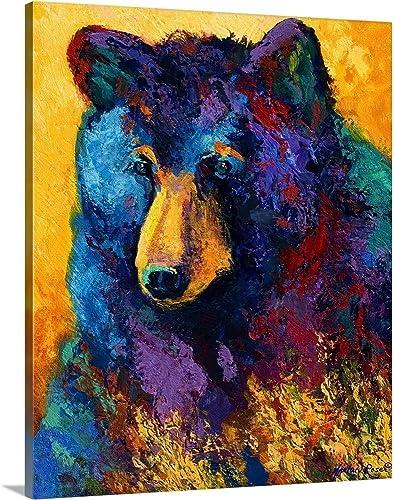 Bear Pause Canvas Wall Art Print