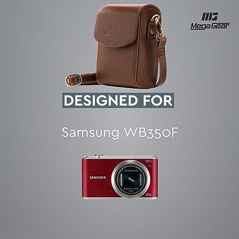 Megagear Vertical Protective Back Leather Camera Case Camera Photo