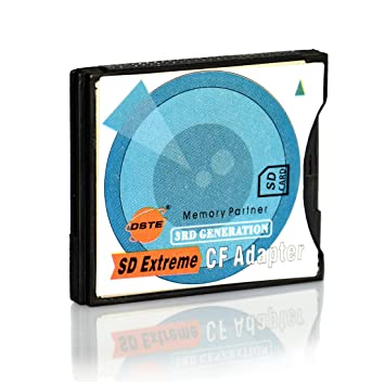 Amazon.com: DSTE sd-cf I II: Tipo de SD a CF Type I & II ...