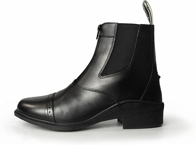 Brogini Tivoli Zipped Paddock Boot Brown EU 41