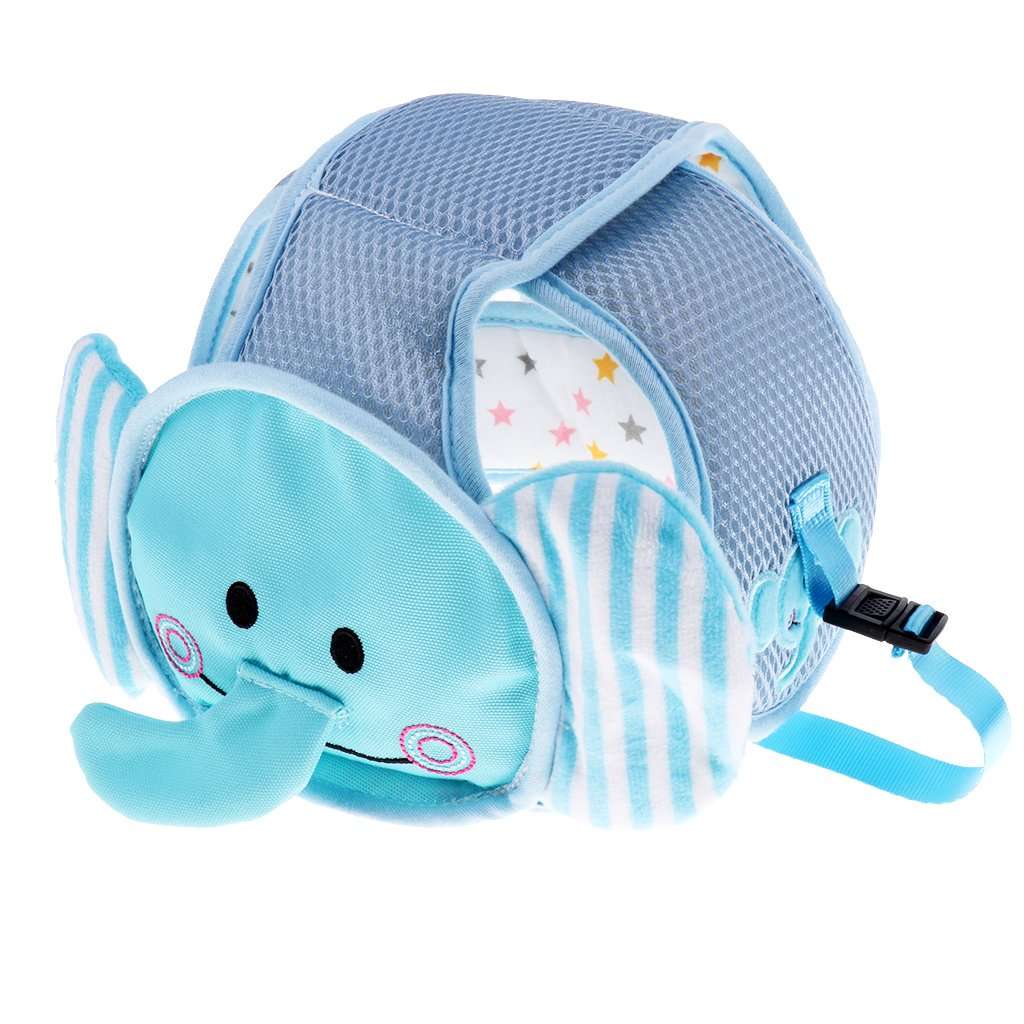 Homyl Infant Baby Toddler Anti-collision Safety Head Protection Helmet Adjustable - Elephant, 45-50cm