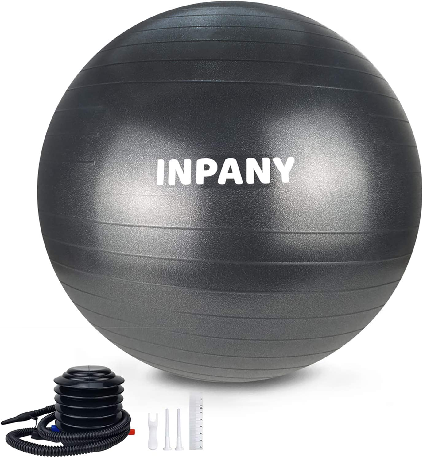 Trideer Exercise Ball 45-85cm Extra Thick Yoga Ball Chair Heavy Duty Stabilit...