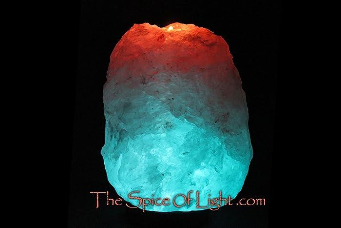 Volcano Glacier Crystal™, Blue Himalayan Salt Lamp