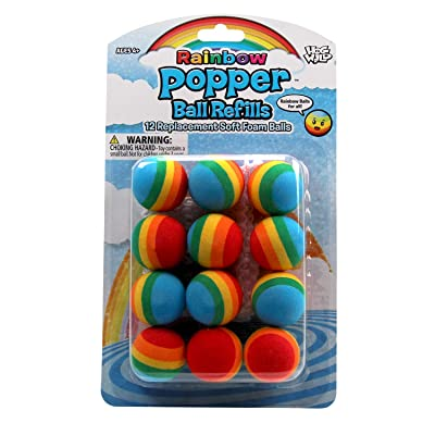 Hog Wild Rainbow Power Popper Refills: Toys & Games