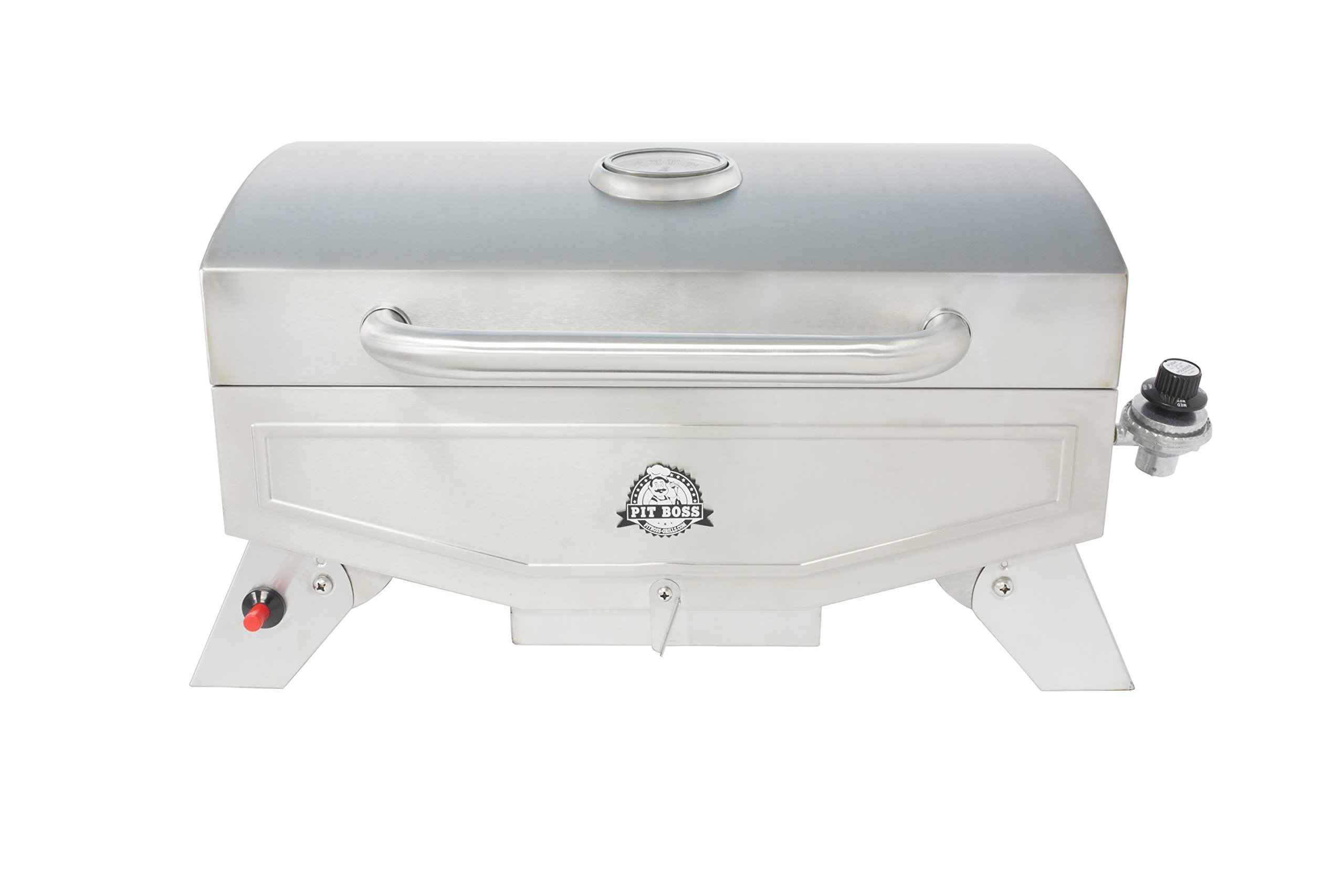 Pit Boss Grills PB100P1 Pit Stop Single-Burner Portable Tabletop Grill by Pit Boss Grills