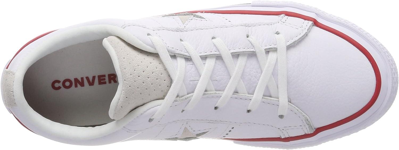 Converse One Star Ox Gym Red/White, Basket Mixte Enfant Blanc Gym Red White 102