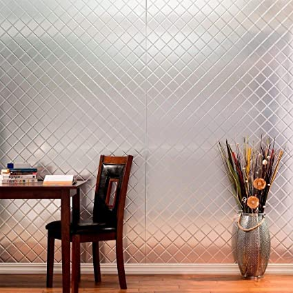 Amazon Com Fasade Quilted Brushed Aluminum Decorative Wall Panel