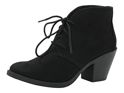 Womens Sadra Faux Suede Low-Cut Comfort-Sole Ankle Booties Black 12 Regular US