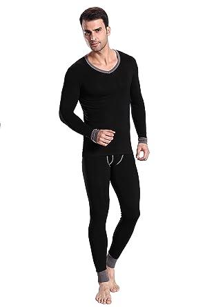 Men's Thermal Underwear, Full Body Skinny Design at Amazon Men's ...