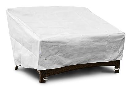KoverRoos DuPont Tyvek 26350 Deep 2 Seat Sofa Cover, 58 Inch Width By