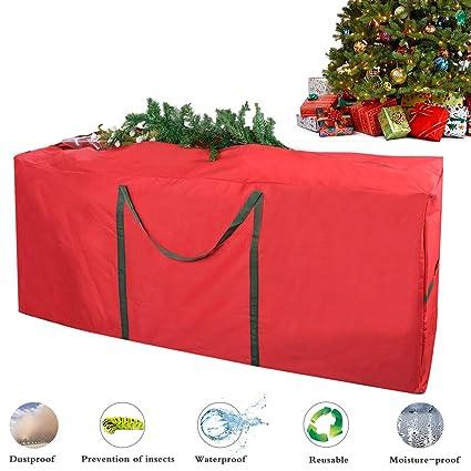 Christmas Tree Storage Bag, Justdolife Xmas Tree Bag Heavy Duty Canvas Christmas  Tree Storage Bag - Amazon.com: Christmas Tree Storage Bag, Justdolife Xmas Tree Bag