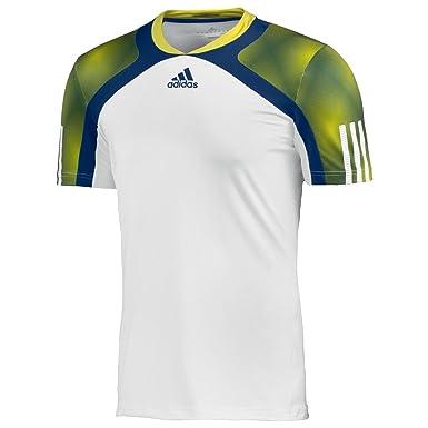 Adidas, Camiseta para Hombre Barricade sem Fit: Amazon.es: Ropa y ...