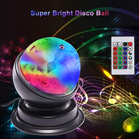 New 360 Degrees Rotation Ktv Disco Colorful Led Stage Light Dj Laser Effect Lamp Lights & Lighting