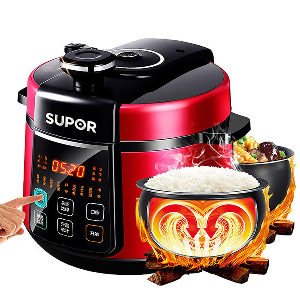SUPOR 1000W 5L Multi-Function Electric Pressure Cooker CYSB50YC520Q-100