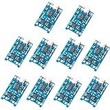 Muzoct 10PCS 1V 5A Micro USB 18650 TP4056 Batteria al litio Caricabatteria Power Board Modulo TE420