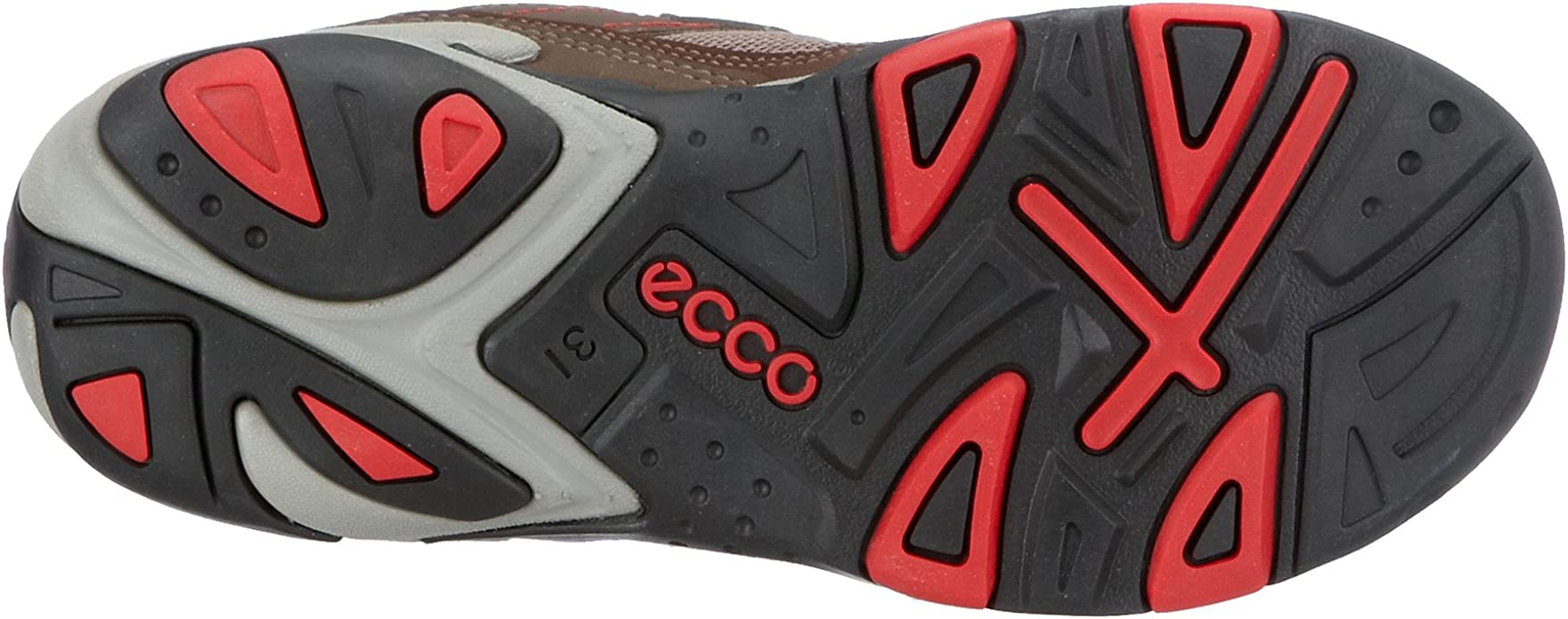 Ecco Boomerang Wombat - Mocasines para niños, Color marrón, Talla ...