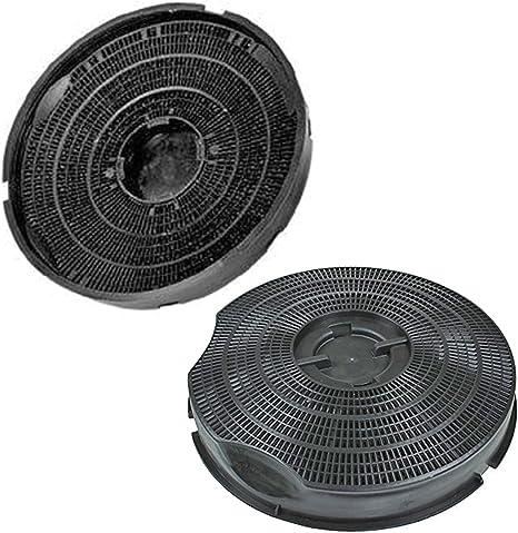 Genuine SMEG KSEG50 tipo 30 carbono filtro de ventilación de campana extractora de carbón (Pack de 2 filtros, 240 mm x 46 mm): Amazon.es: Grandes electrodomésticos