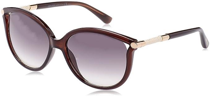 JIMMY CHOO Jimmy Choo Damen Sonnenbrille » GIORGY/S«, grau, QCN/JD - grau/braun