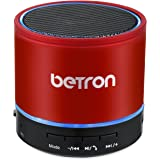 Betron KBS08 Wireless Portable Travel Bluetooth Speaker Red