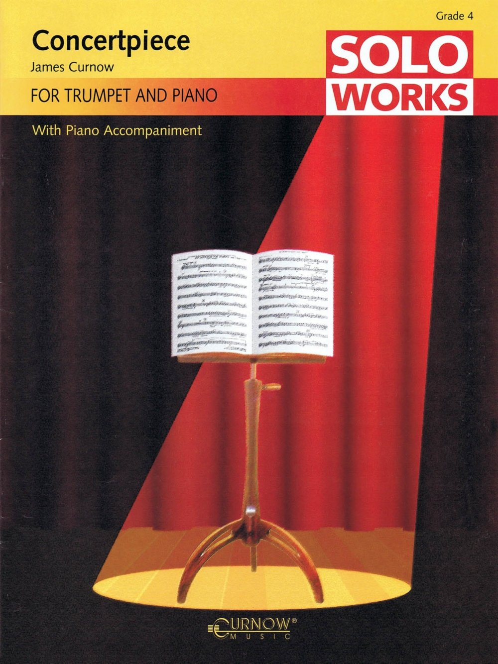 Curnow Music Concertpiece (Soloworks with Piano Accompaniment - Grade 4 - Trumpet) Concert Band Level 4 pdf