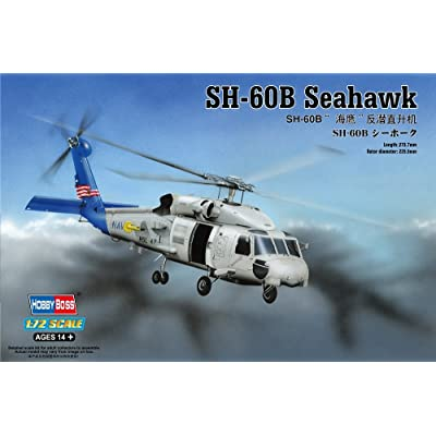 Hobby Boss SH-60B Seahawk Airplane Model Building Kit: Toys & Games [5Bkhe1201636]