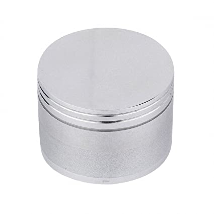 0bc00e238f1 Buy Metier 42mm Sliver Color Metal Herb Storage Grinder Crusher with Honey  Dust Filter -4 Parts (42mm) Online at Low Prices in India - Amazon.in