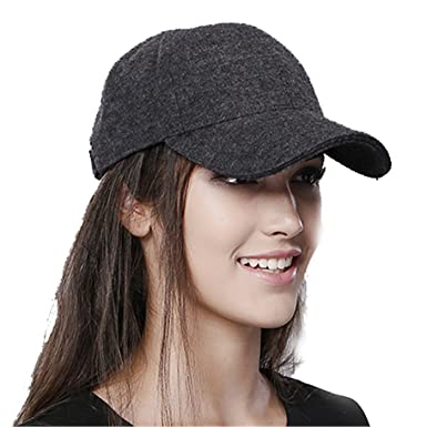 Image Unavailable. Image not available for. Color  Wool Hats for Women  Snapback Women Fashion ... 052c12c8aed
