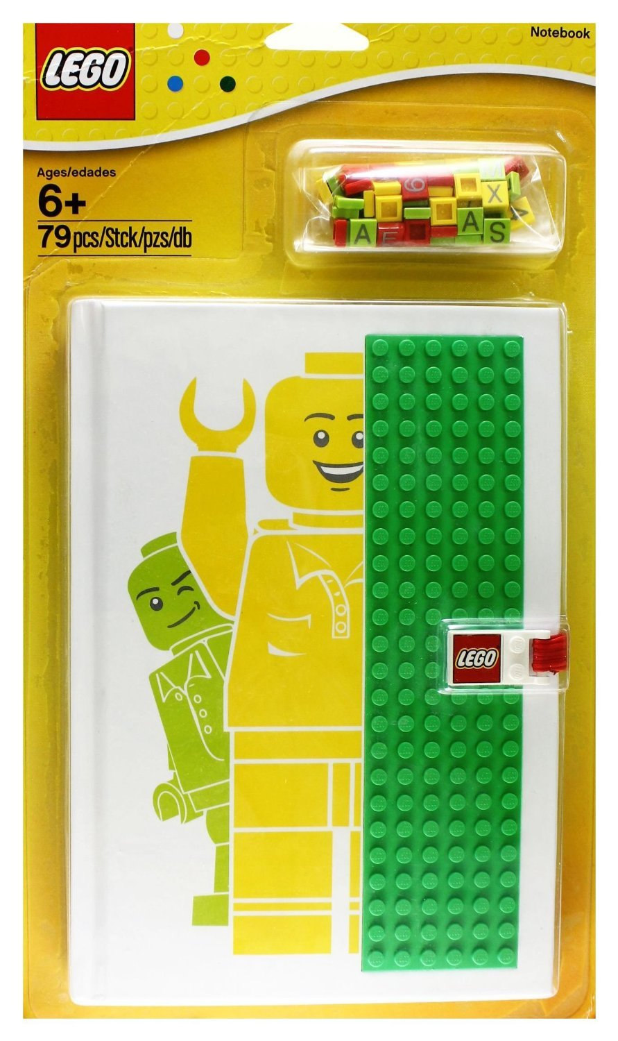 Lego Notebook with Studs EXCLUSIVE